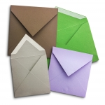 Invitation envelopes - V shape flap
