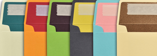 Duo Colour Envelopes